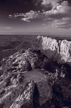 Steve Gadomski - Desert View At Grand Canyon Arizona BW