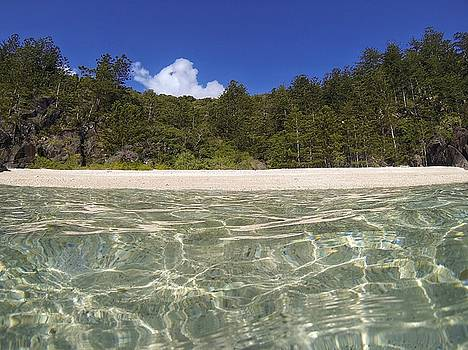 Deserted beach on Hook Island, The Whitsundays by Keiran Lusk