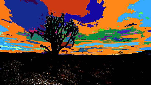 Deserted Color Landscape by Kenneth James