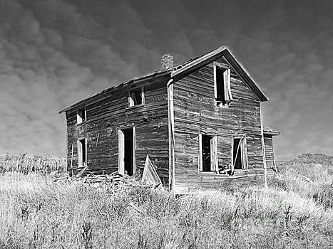 Deserted Home On The Range by Kathy M Krause