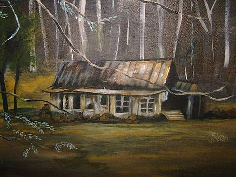 Deserted House in Gatlinburg by Joseph Baker
