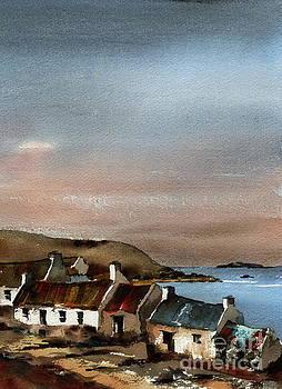 Val Byrne - Deserted Village, Blasket Mor, Kerry