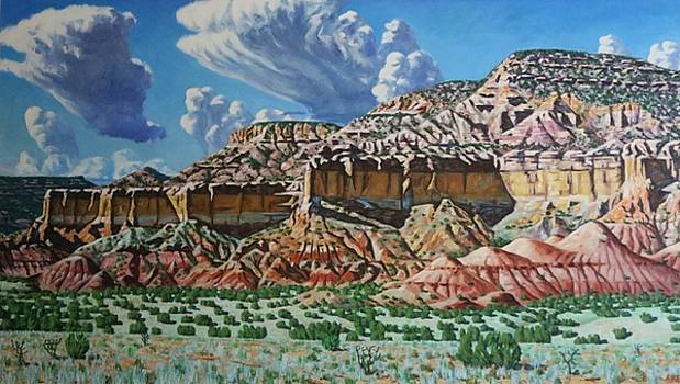 Ghost Ranch New Mexico by Allen Kerns