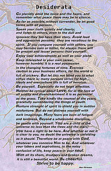 Desiderata Twisted Branches by Aimee L Maher ALM GALLERY