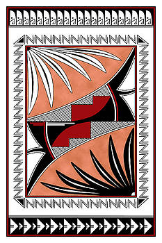 Southwest Collection - Design Three in Red by Tim Hightower