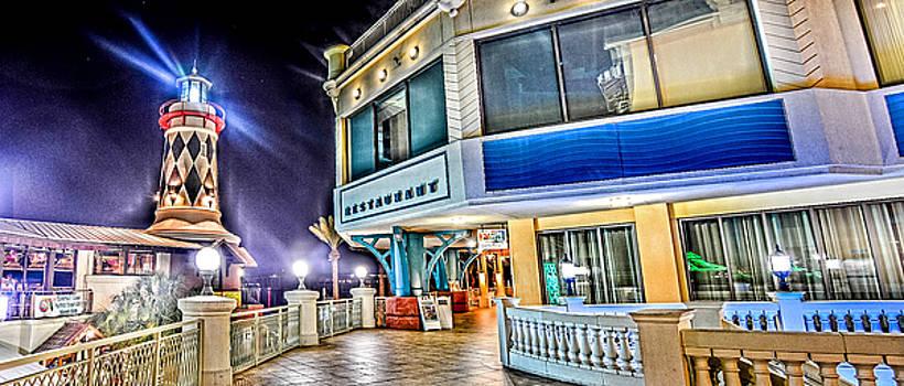 Destin Lighthouse Panorama by Jon Cody