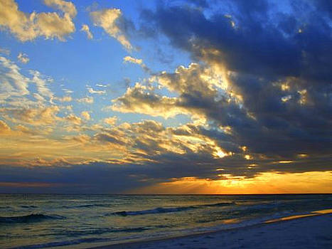Destin Sunset by Allison Jones