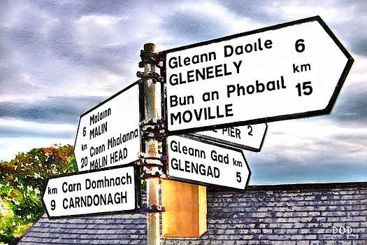 Destination Donegal by Declan O'Doherty