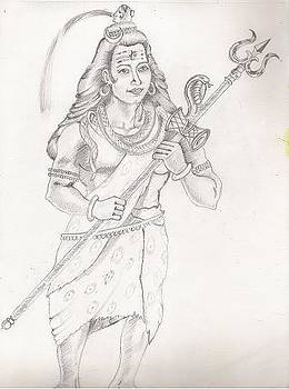 Destroyer of the Universe - Lord Shiva by Tanmay Singh
