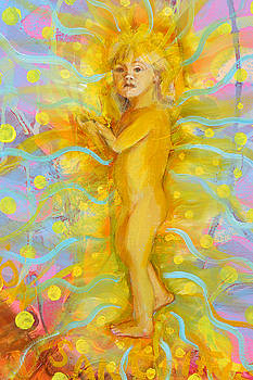 Anne Cameron Cutri - Detail Infant  Theology of the Body