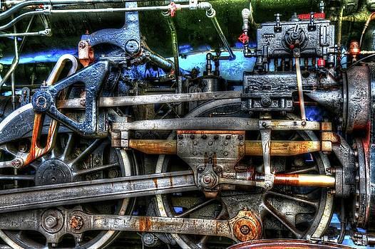 Detail Of A Train by Carol Montoya