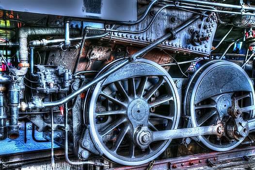 Detail Of A Train II by Carol Montoya