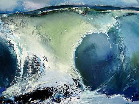 detail of Australian Wave by Judy  Blundell