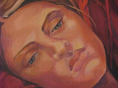 Detail of Dreamer by Julie Orsini Shakher