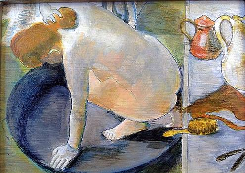 Detail Study for Degas by Cynthia Mozingo