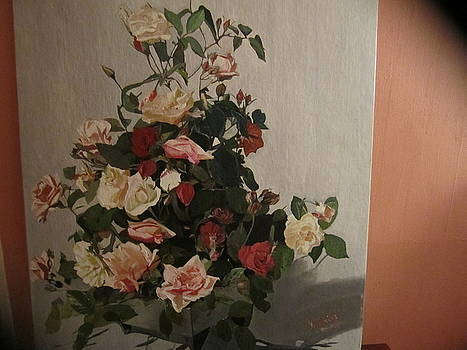 Detailed Roses by Zeenath Diyanidh