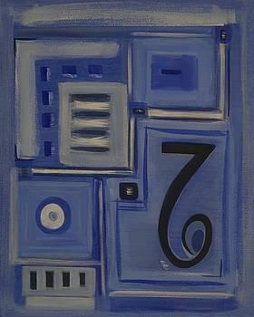Details in Blue by Sandy Bostelman