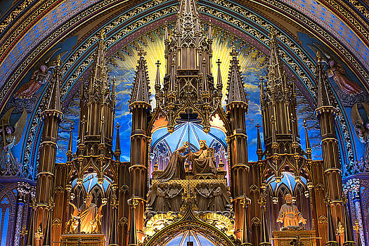Details Notre Dame Montreal by For Ninety One Days