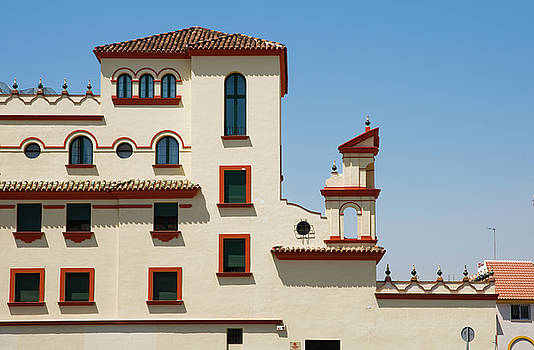 Jenny Rainbow - Details of Traditional Building in Malaga