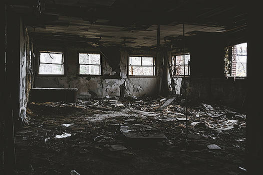 Deteriorating Abandoned Building by Dylan Murphy