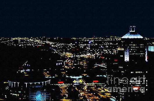 Bob Phillips - Detroit at Night 4