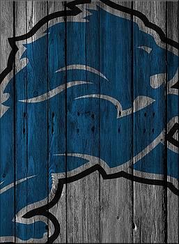 Joe Hamilton - DETROIT LIONS WOOD FENCE