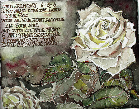 Deuteronomy 6 by Mindy Newman