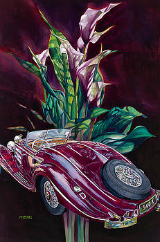 Deutschland Uber Lilies by Mike Hill