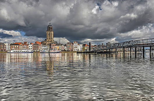 Deventer and the River by Frans Blok