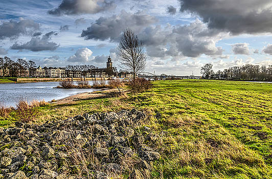 Deventer from the Floodplains by Frans Blok