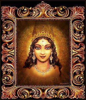 Devi Darshan in a Frame by Ananda Vdovic