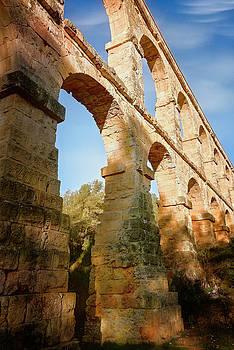 Devils Bridge Tarragona Spain III by Joan Carroll