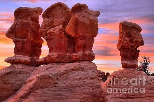 Adam Jewell - Devils Garden Pink Sunset