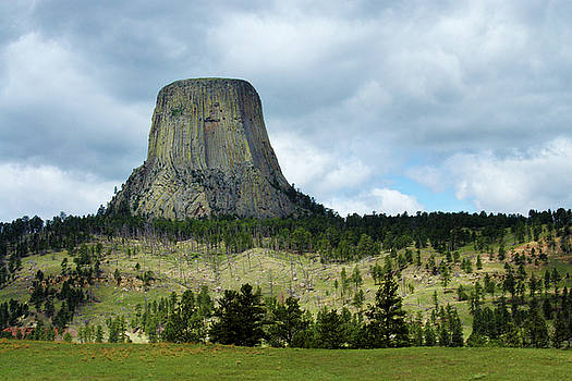 Devils Tower by Marie Leslie