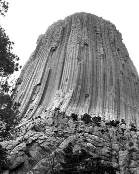 Devils Tower Up Close by Kimberly Blom-Roemer