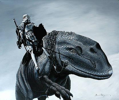 Dewback Rider by Daniel Bergren