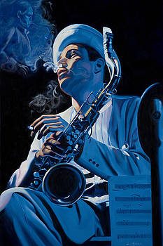 Dexter Gordon by Loretta McNair