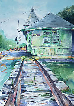 Dexter Train Depot by Adam VanHouten