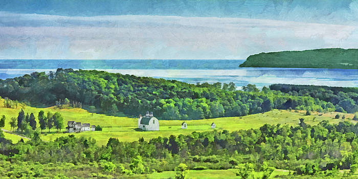 D. H. Day Farmstead At Sleeping Bear Dunes National Lakeshore by Digital Photographic Arts