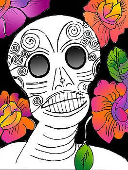 Lydia L Kramer - Dia de Los Muertes Skull