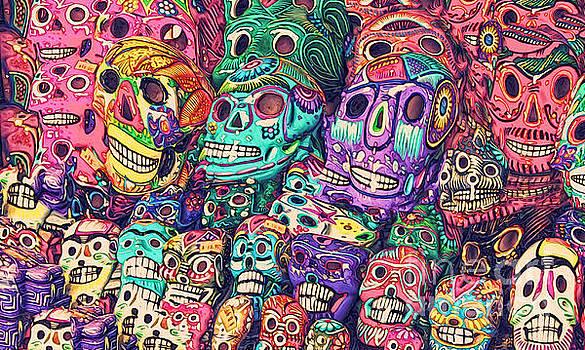 Gregory Dyer - Dia de los Muertos Sugar Skulls