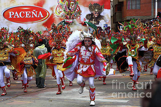 James Brunker - Diablada Dancers at Oruro Carnival Bolivia