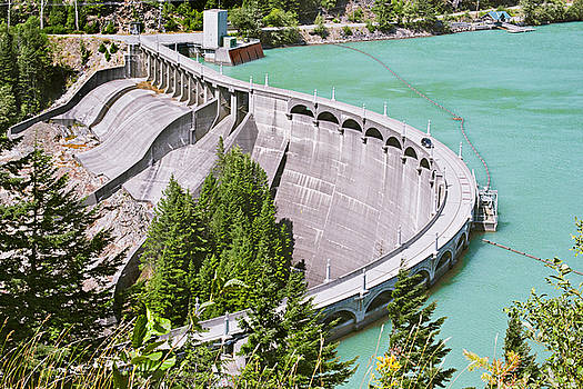 Diablo Dam by Peter J Sucy