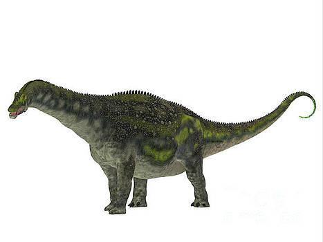 Corey Ford - Diamantinasaurus Dinosaur Side Profile
