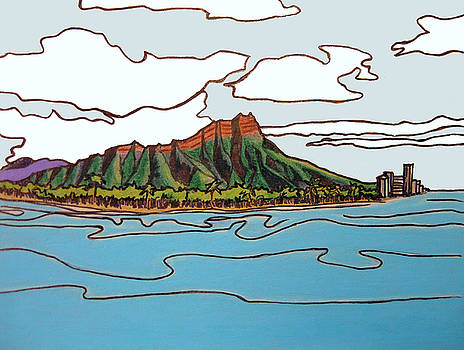 Diamond Head by Red Pine
