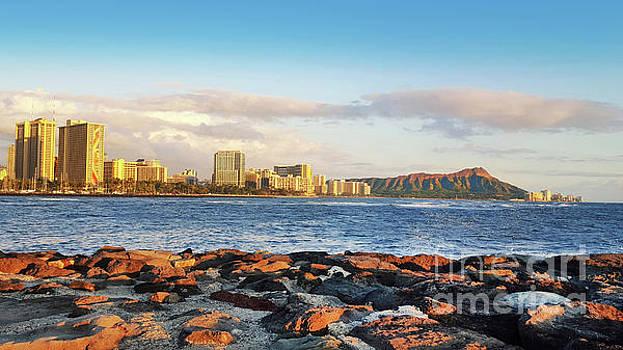 Diamond Head, Waikiki by Kristine Merc