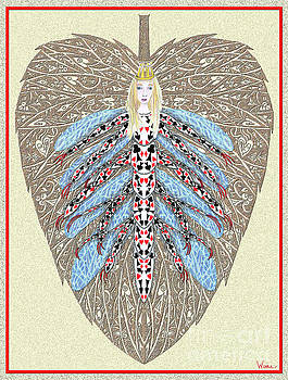 Diamond Trump, the Insect Faerie by Lise Winne