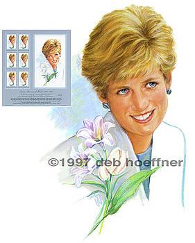 Diana Princess of Wales  by Deb Hoeffner