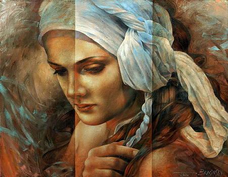 Diana's portrait by Arthur Braginsky