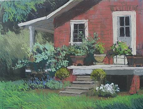 Dianne's Sunny Porch by Jan Frazier